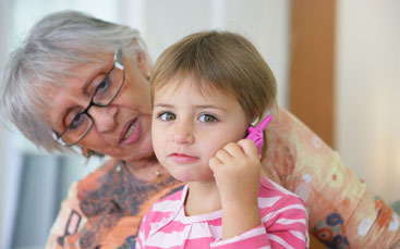 Children are getting cellphones at a very young age
